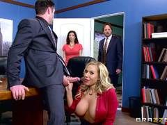 brazzers office sex