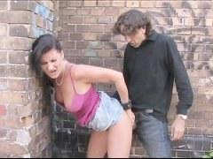 sluts fucked on the street